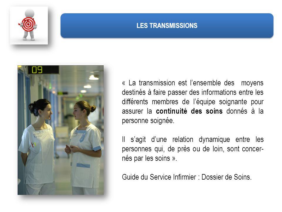 Guide du Service Infirmier : Dossier de Soins.