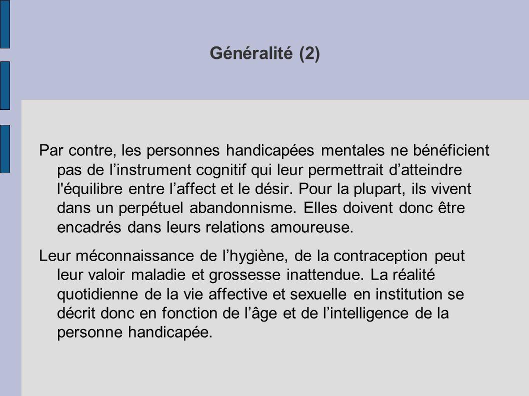 Généralité (2)