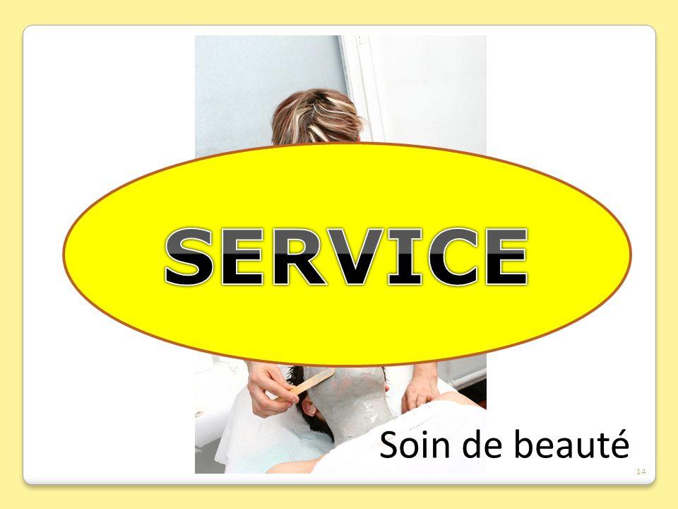 SERVICE Soin de beauté 14