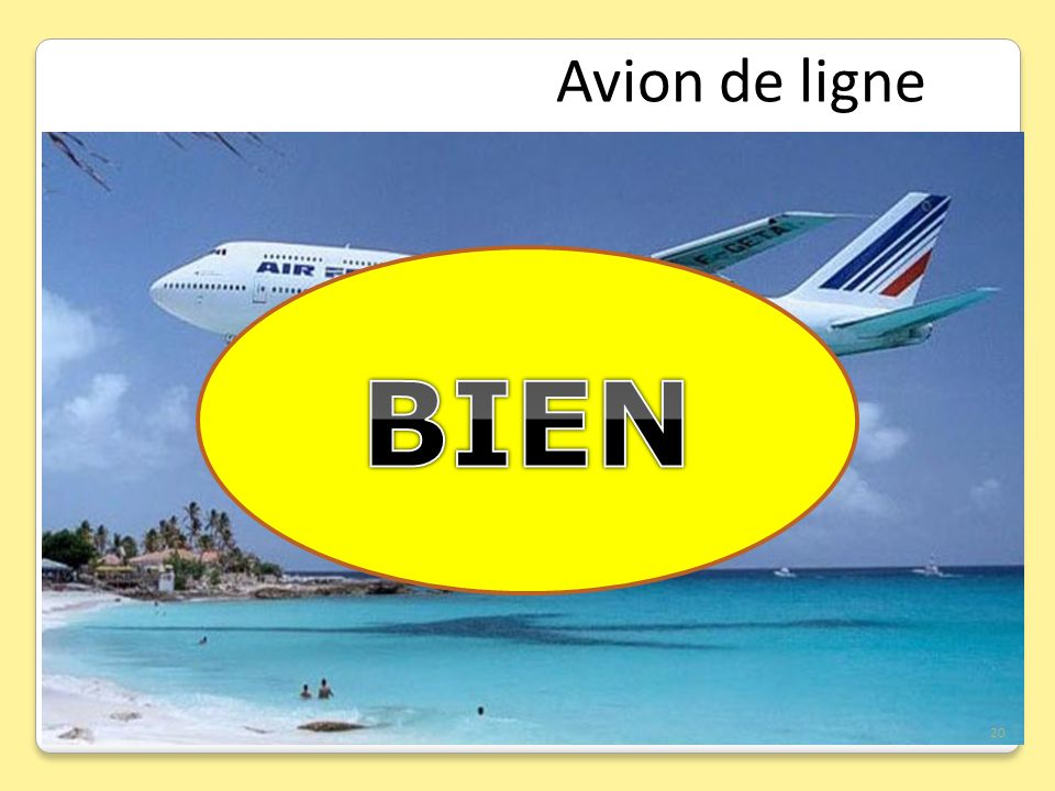 Avion de ligne BIEN 20