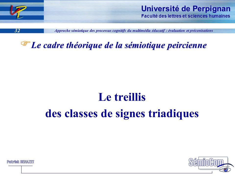 des classes de signes triadiques