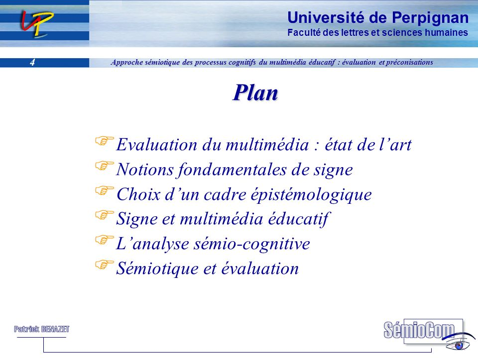 Plan Evaluation du multimédia : état de l'art