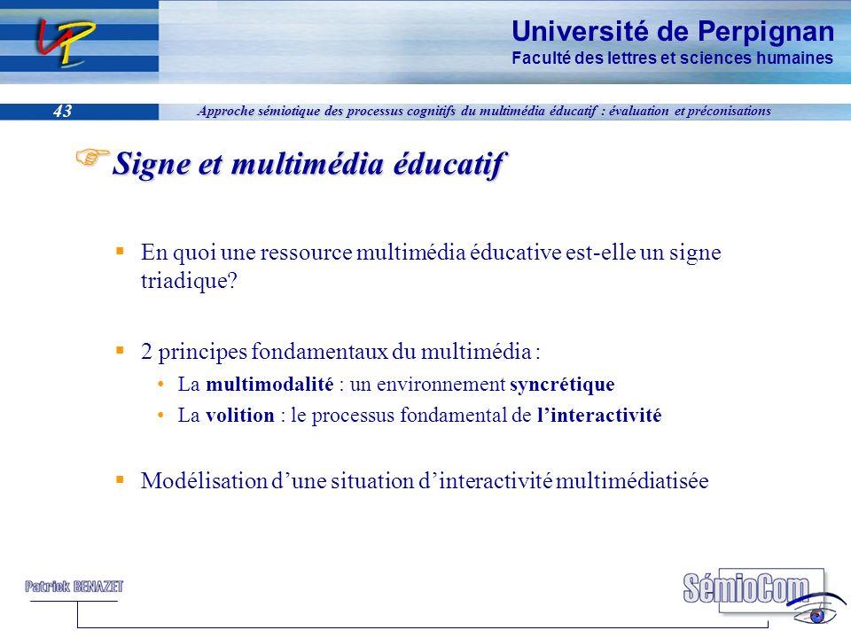 Signe et multimédia éducatif