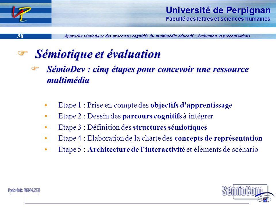Sémiotique et évaluation