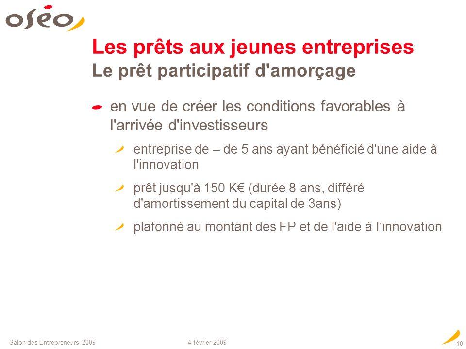 Les prêts aux jeunes entreprises Le prêt participatif d amorçage