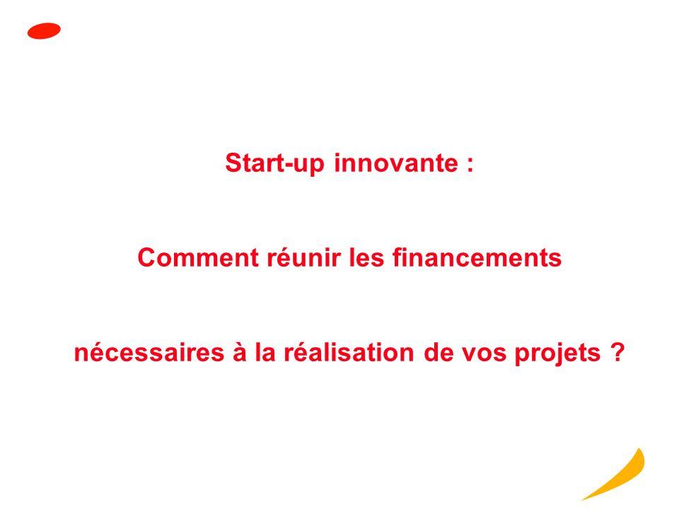 Start-up innovante : Comment réunir les financements nécessaires à la réalisation de vos projets