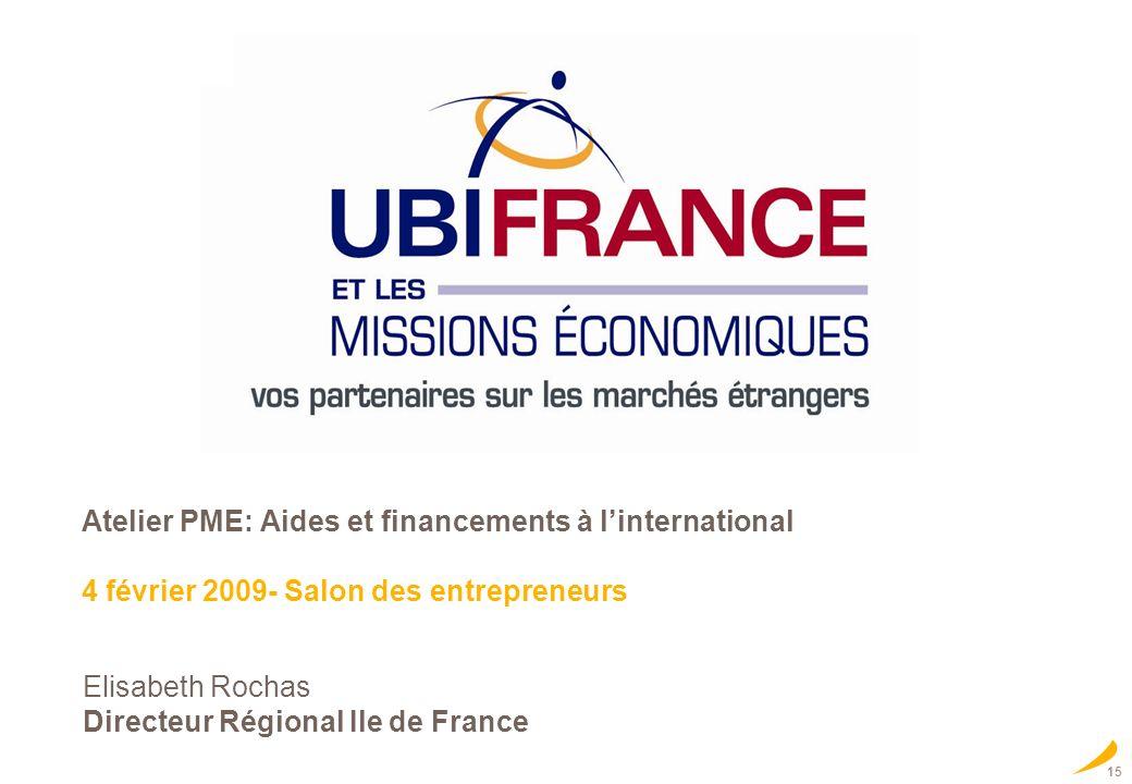 Elisabeth Rochas Directeur Régional Ile de France