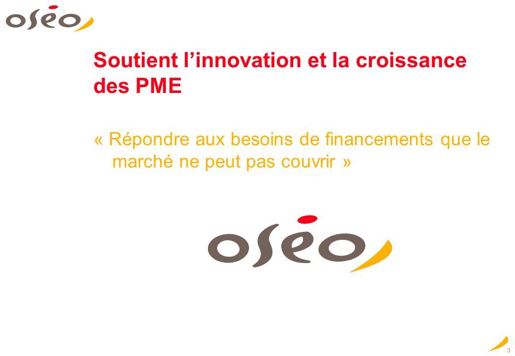 Soutient l'innovation et la croissance des PME
