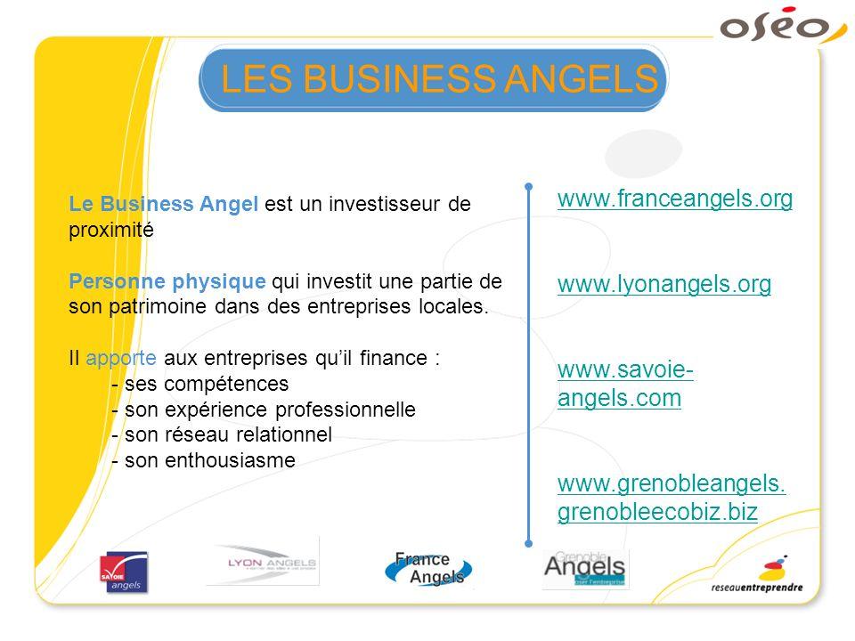 LES BUSINESS ANGELS www.franceangels.org www.lyonangels.org