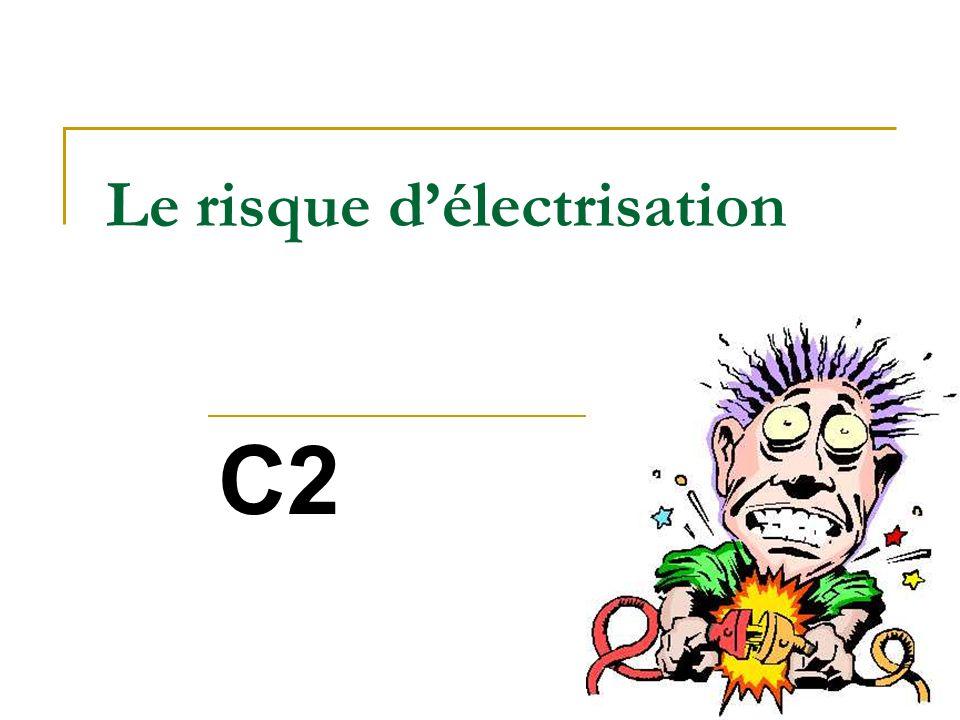 Le risque d'électrisation