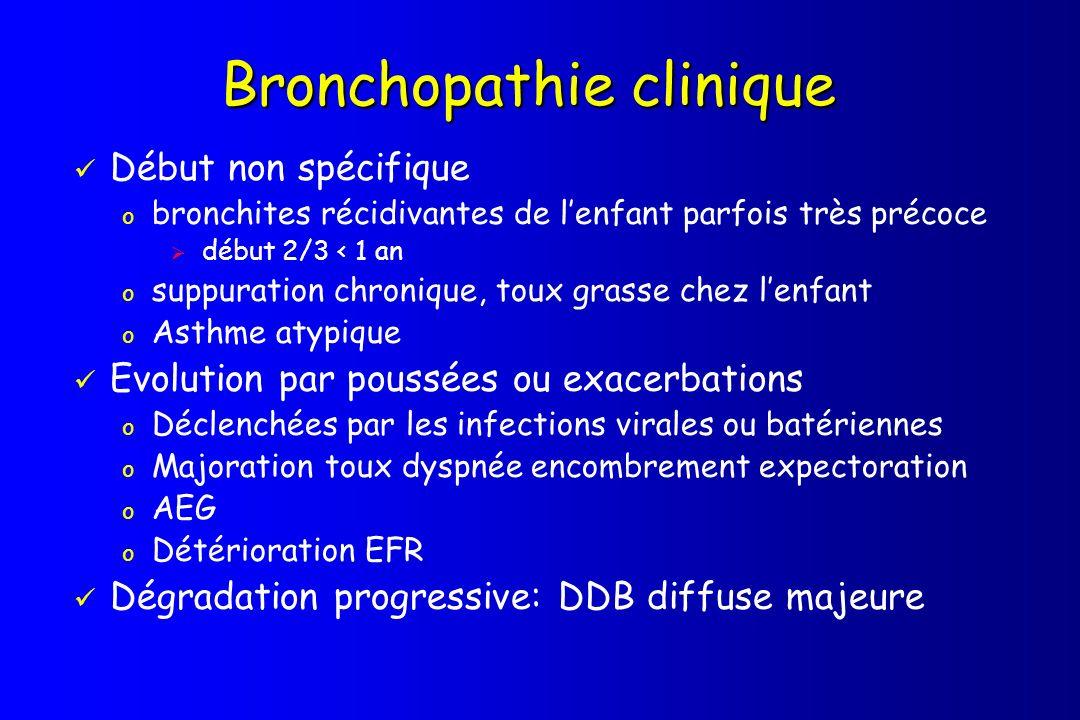 Bronchopathie clinique
