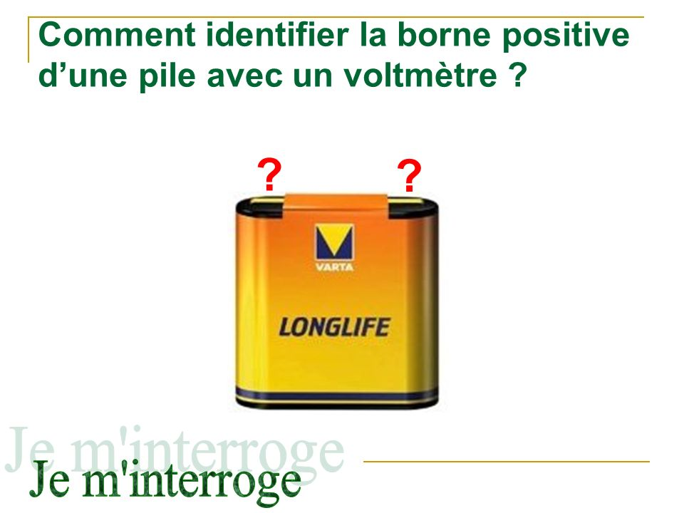 La tension lectrique c3 ppt video online t l charger - Comment brancher un voltmetre ...