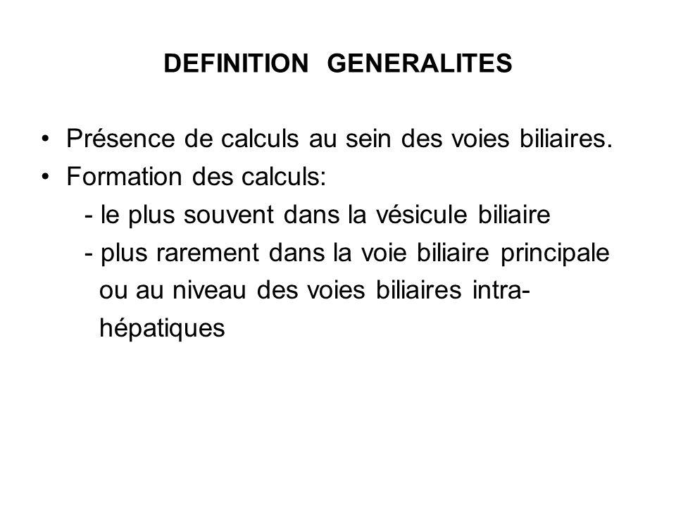 DEFINITION GENERALITES