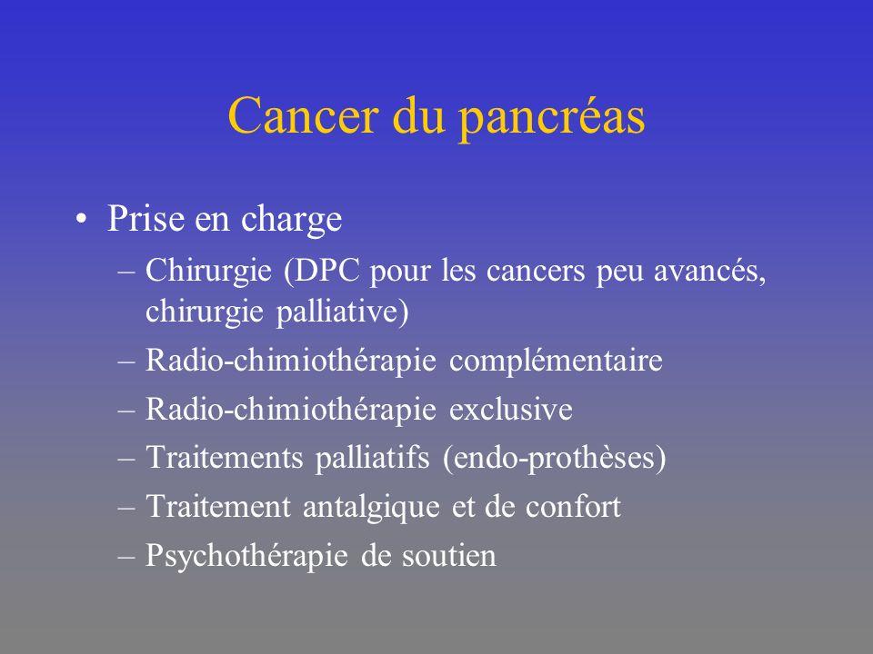 Cancer du pancréas Prise en charge