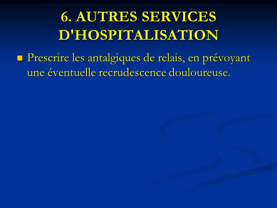 I proc dure de prise en charge de la douleur en g n ral aux urgences ppt t l charger - Procedure hospitalisation d office ...