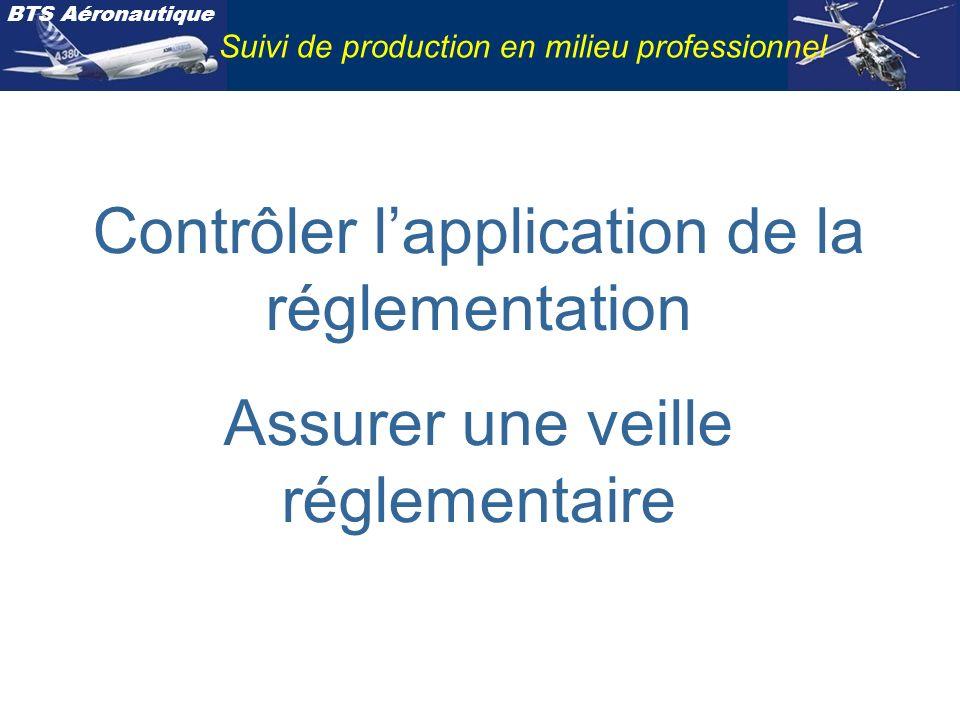 Contrôler l'application de la réglementation