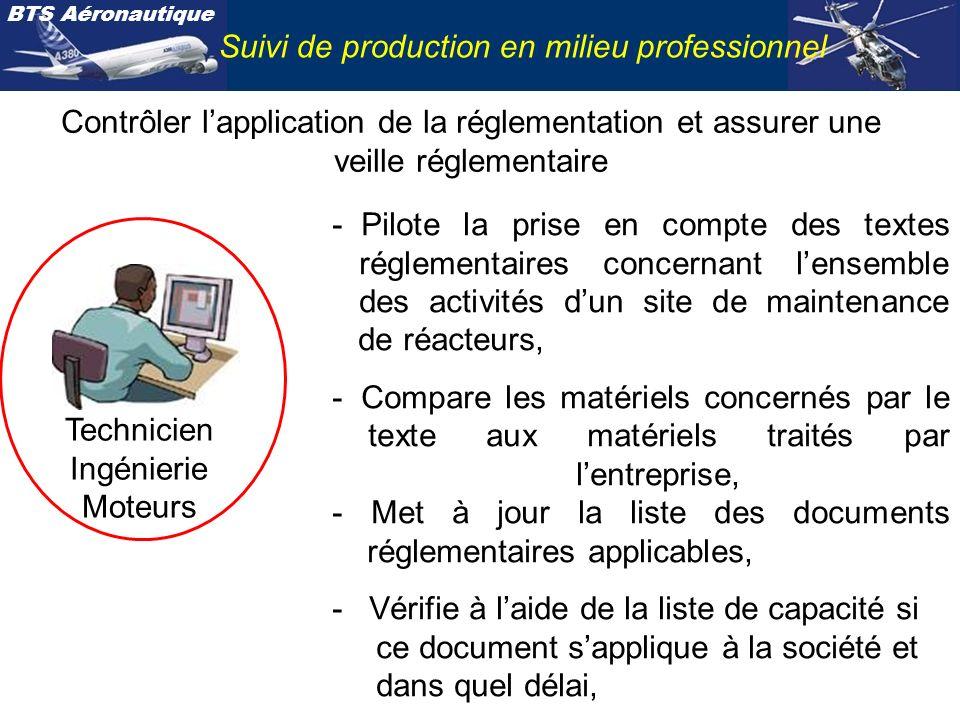 Technicien Ingénierie Moteurs