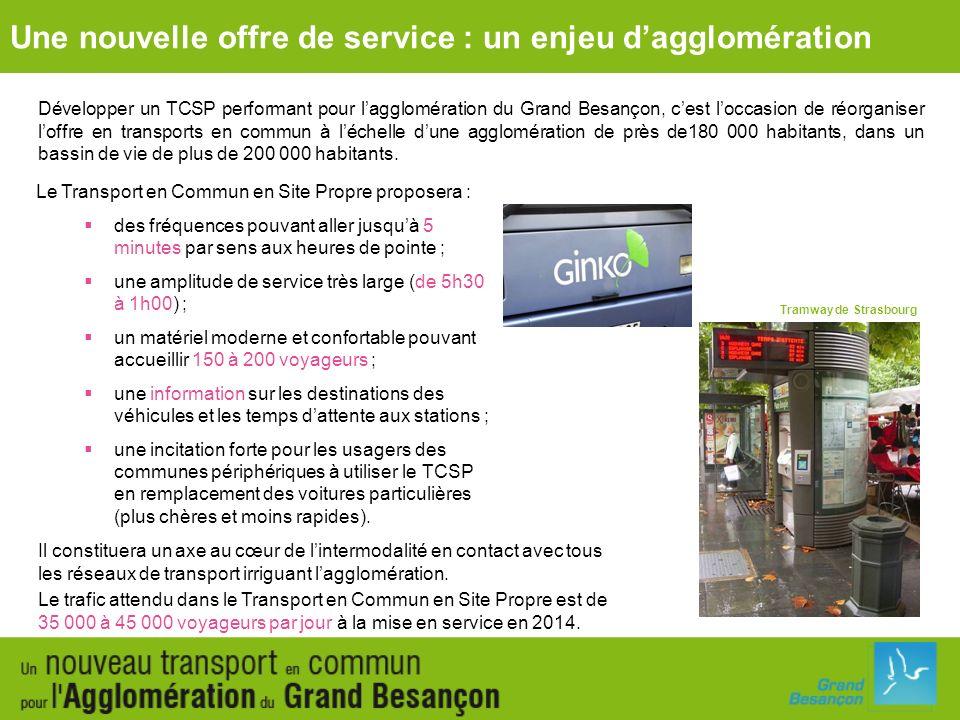 Une nouvelle offre de service : un enjeu d'agglomération