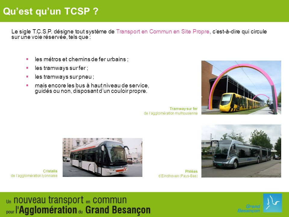 Qu'est qu'un TCSP