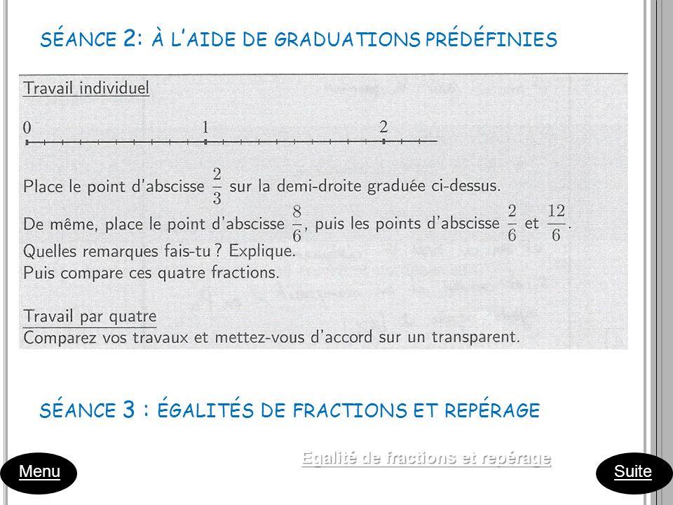 séance 2: à l'aide de graduations prédéfinies