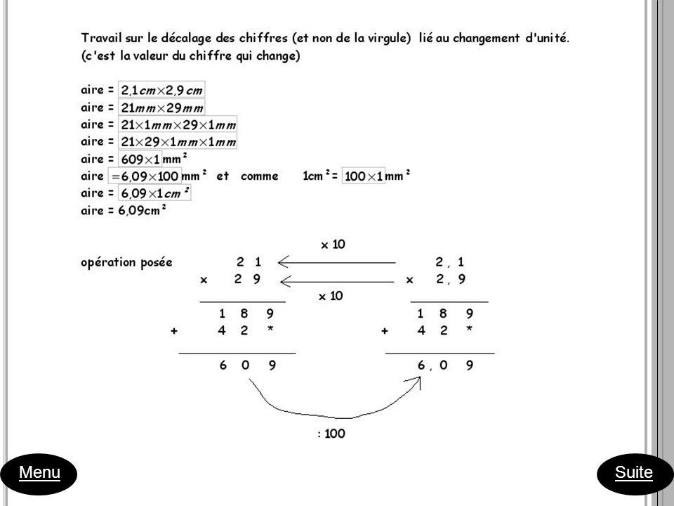 1ère séance Consigne 1: Sur une feuille de papier millimétré, dessiner 6 rectangles de périmètre 10 cm.