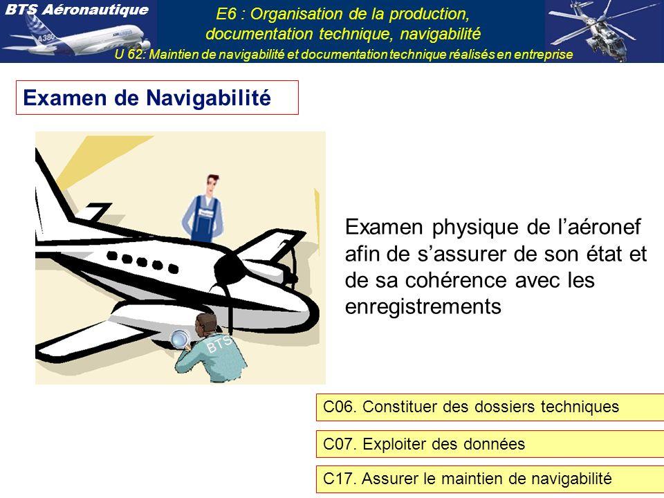Examen de Navigabilité