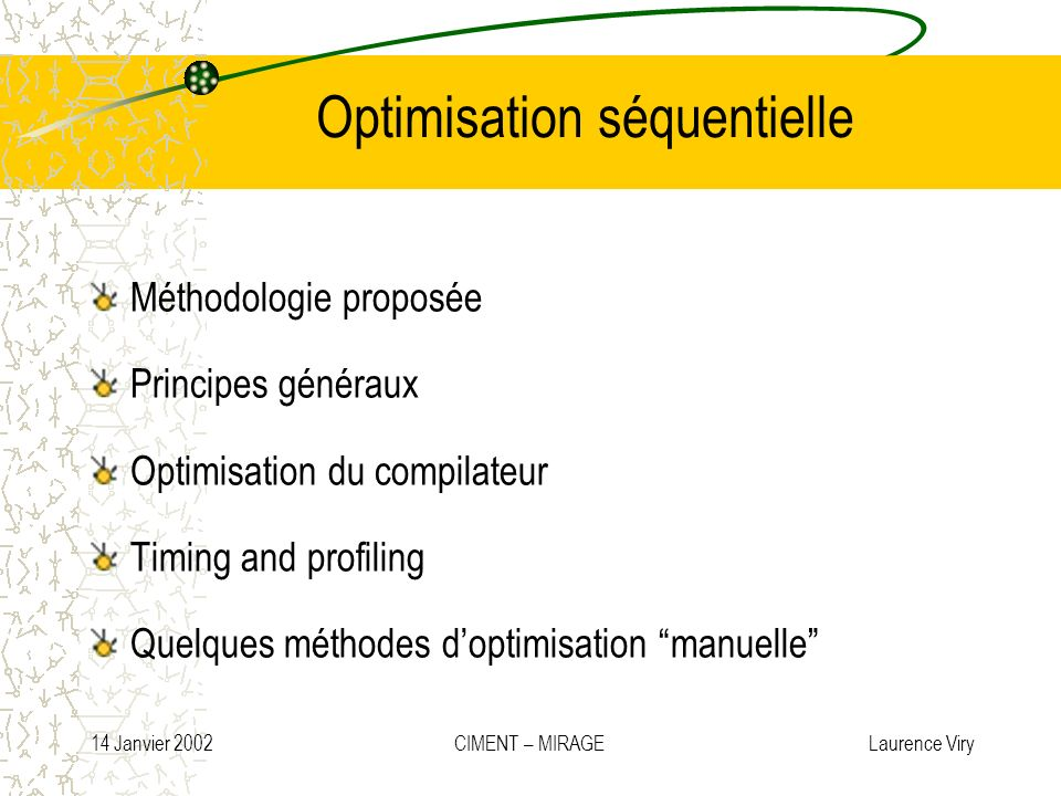 Optimisation séquentielle