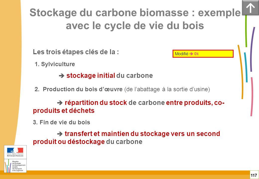Stockage du carbone biomasse : exemple avec le cycle de vie du bois