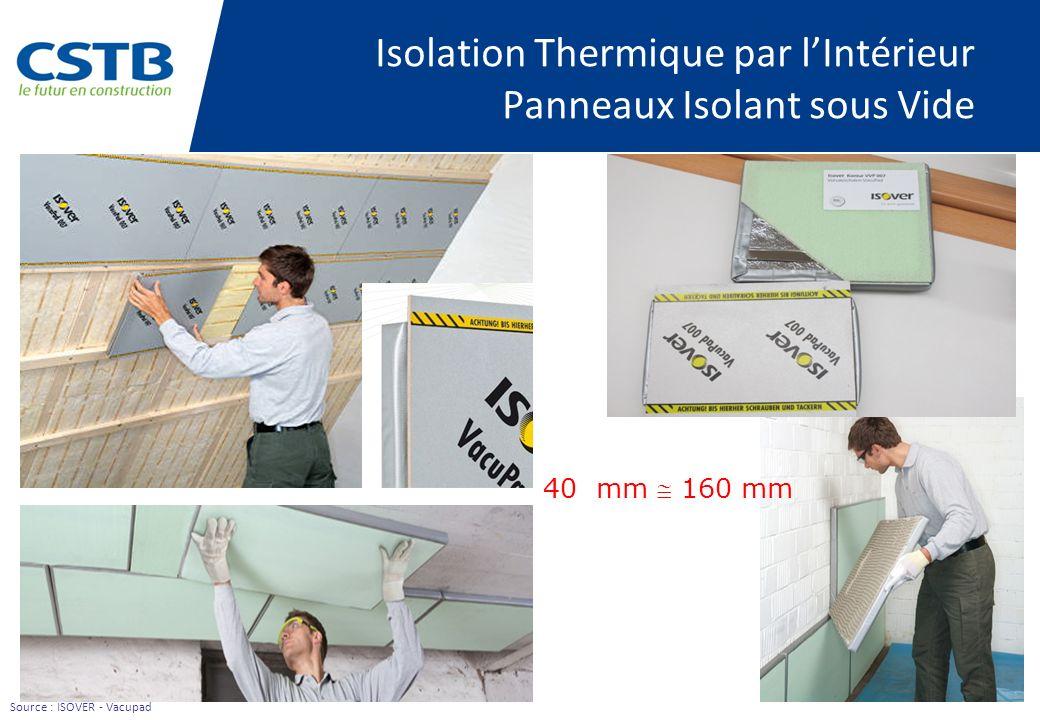 les panneaux isolants sous vide les isolants nano poreux. Black Bedroom Furniture Sets. Home Design Ideas