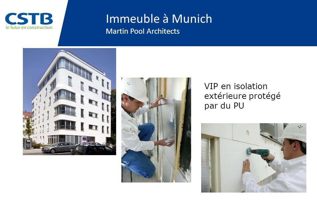 Immeuble à Munich Martin Pool Architects