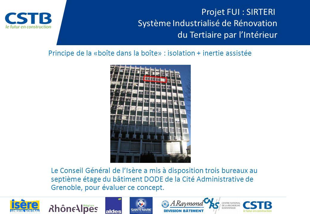 Système Industrialisé de Rénovation du Tertiaire par l'Intérieur