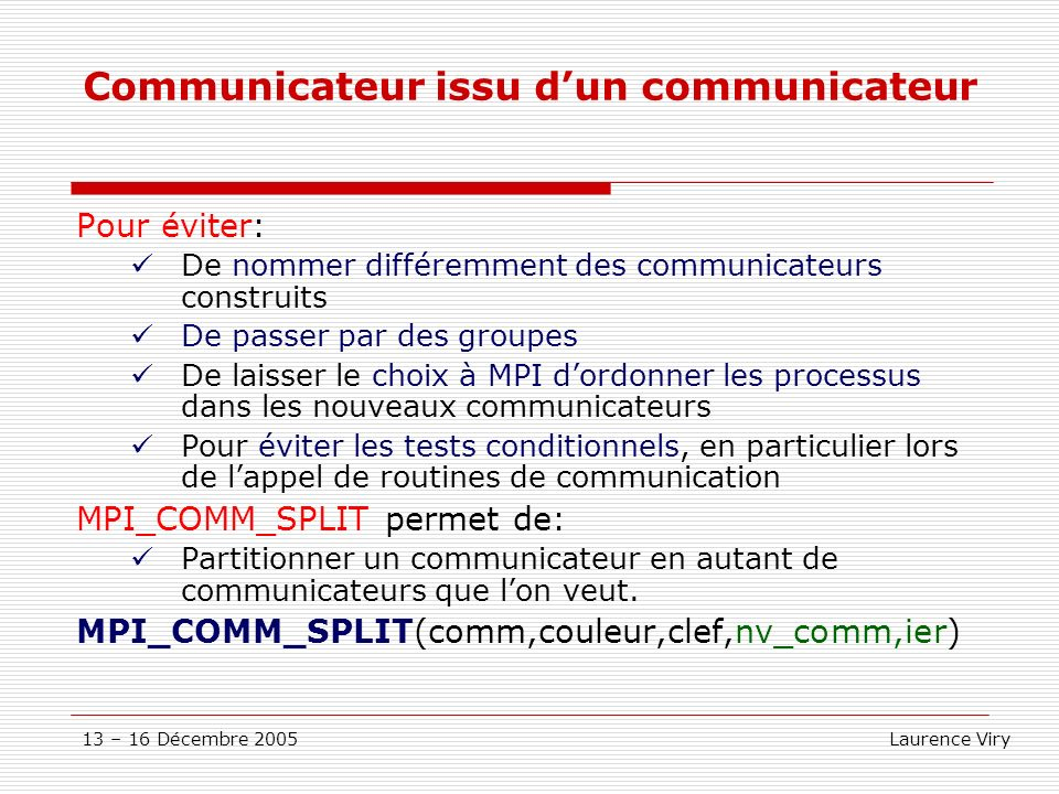Communicateur issu d'un communicateur