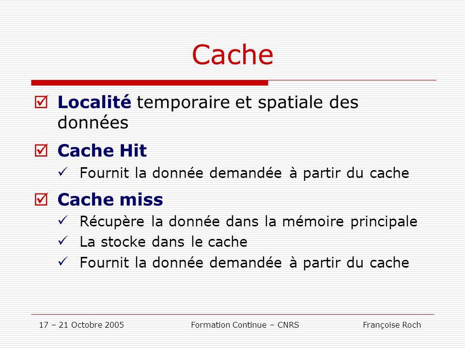 Formation Continue – CNRS Françoise Roch