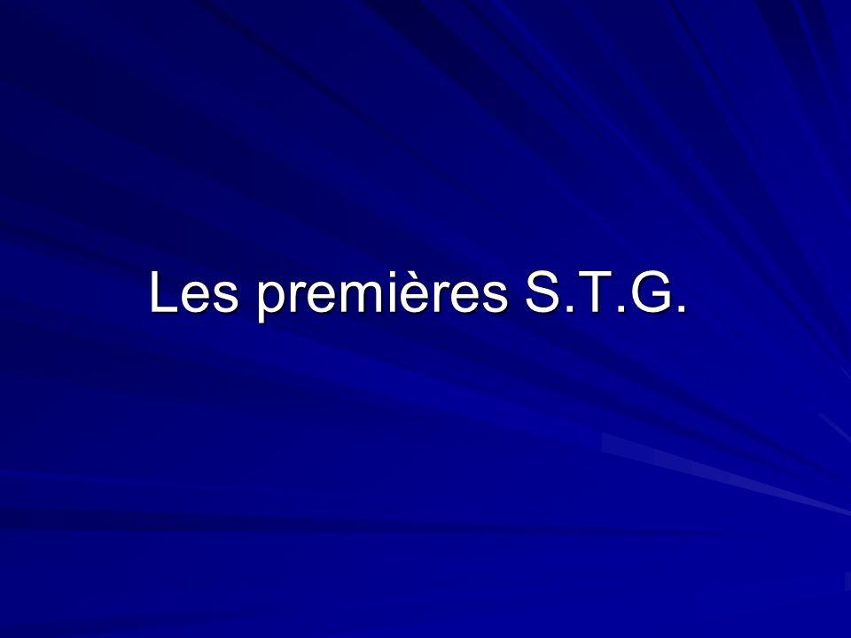 Les premières S.T.G.