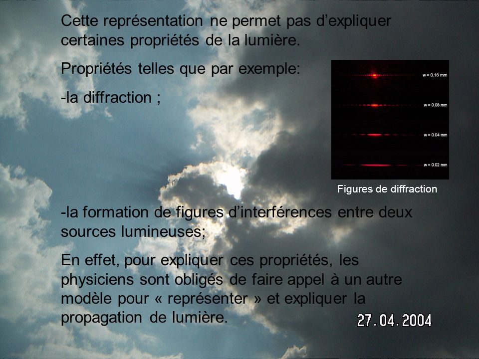 Figures de diffraction