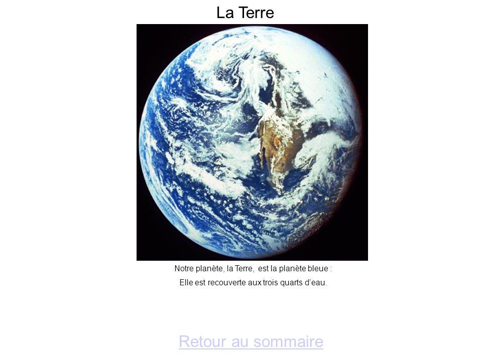 La Terre Retour au sommaire
