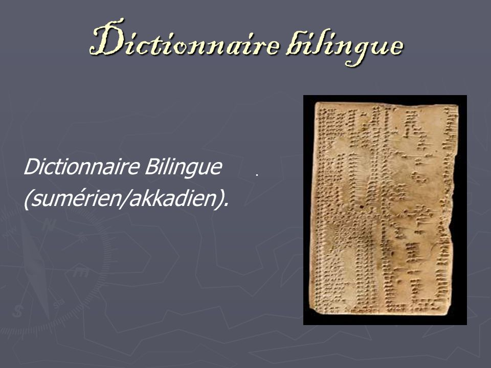 Dictionnaire bilingue