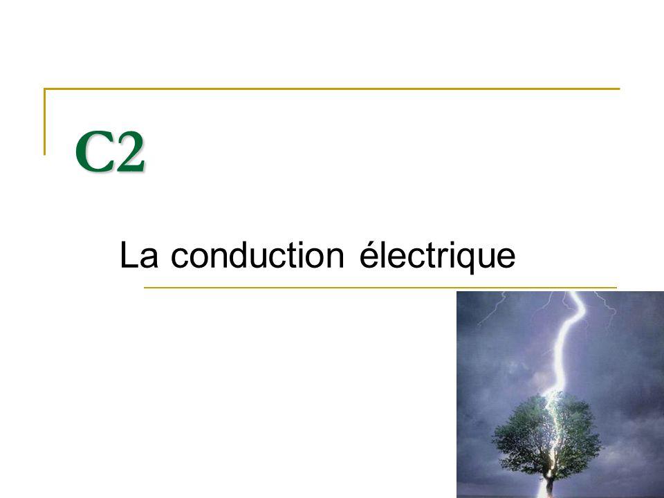 La conduction électrique