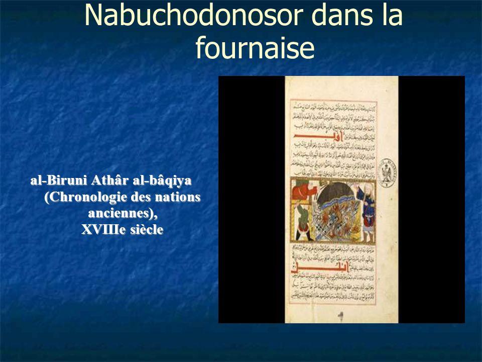 Nabuchodonosor dans la fournaise