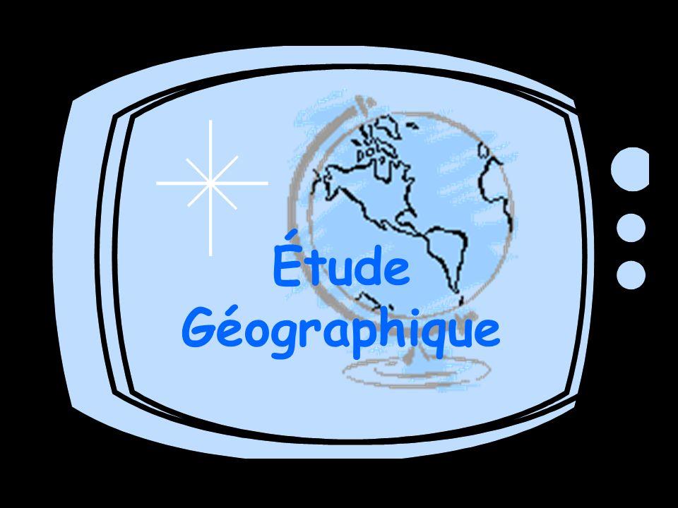 Étude Géographique