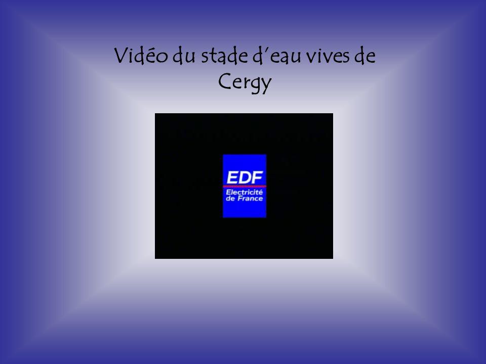 Vidéo du stade d'eau vives de Cergy