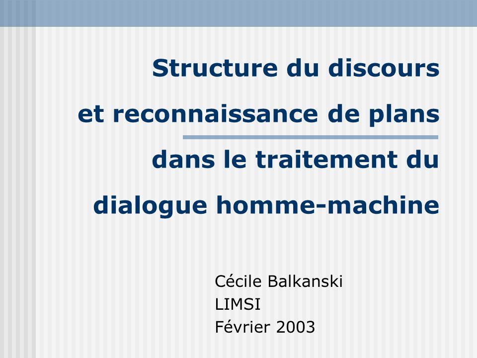 Cécile Balkanski LIMSI Février 2003