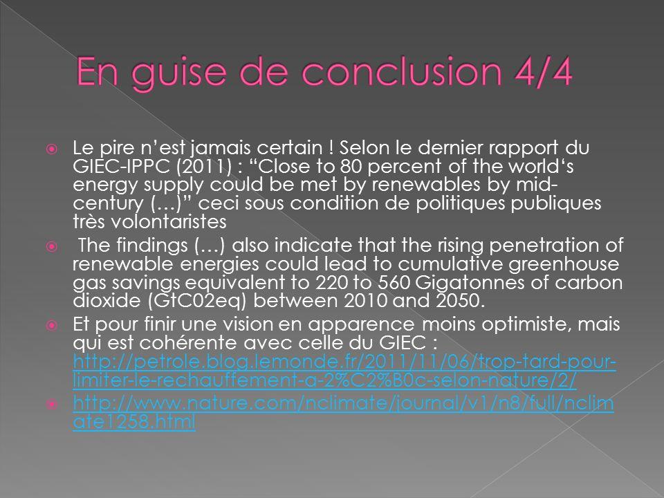 En guise de conclusion 4/4