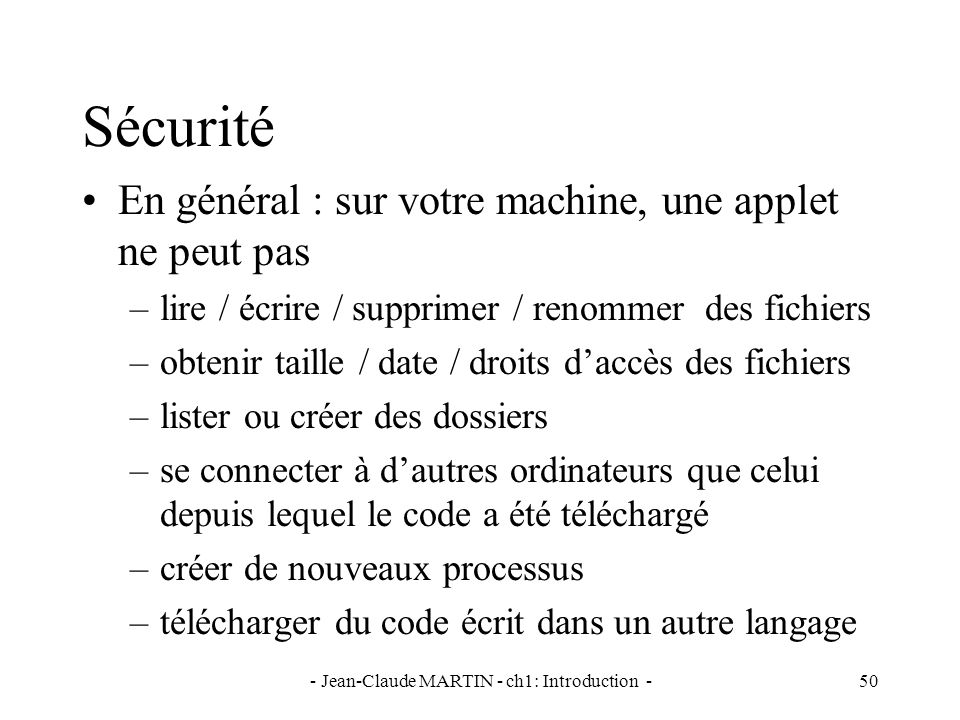 - Jean-Claude MARTIN - ch1: Introduction -