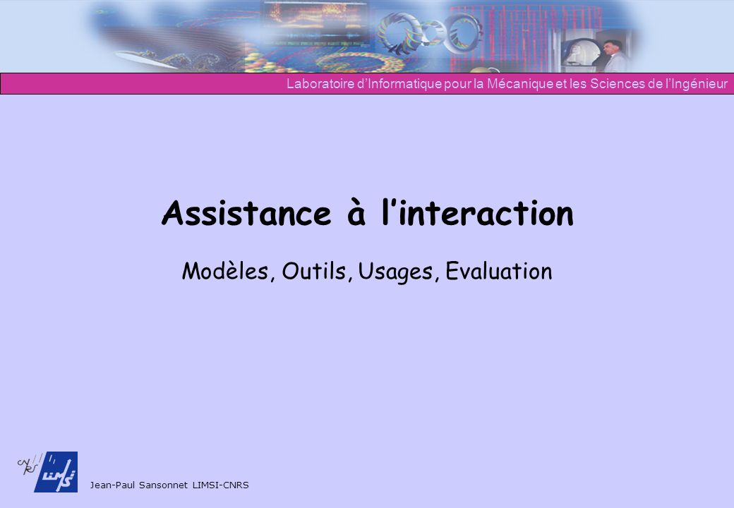 Assistance à l'interaction