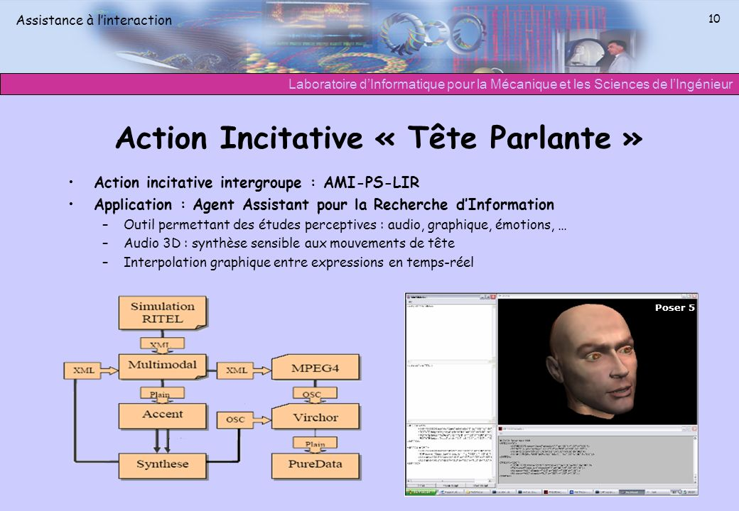 Action Incitative « Tête Parlante »