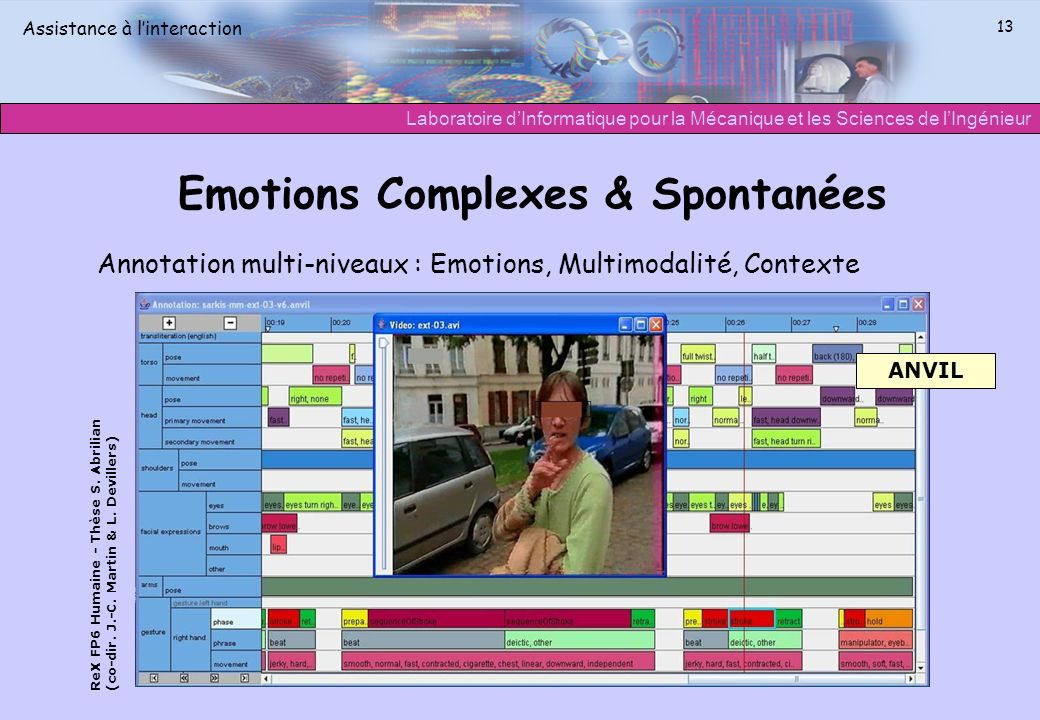 Emotions Complexes & Spontanées