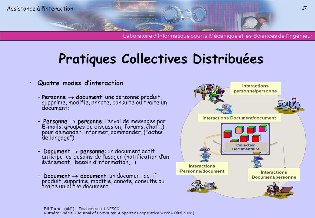 Pratiques Collectives Distribuées