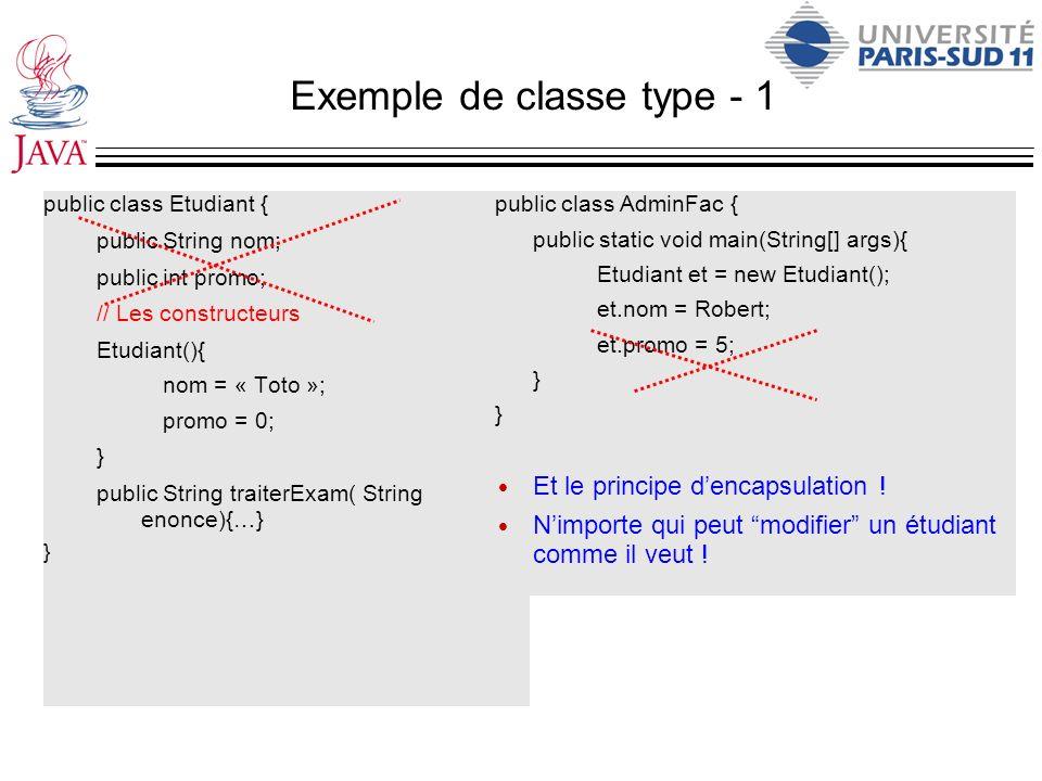 Exemple de classe type - 1