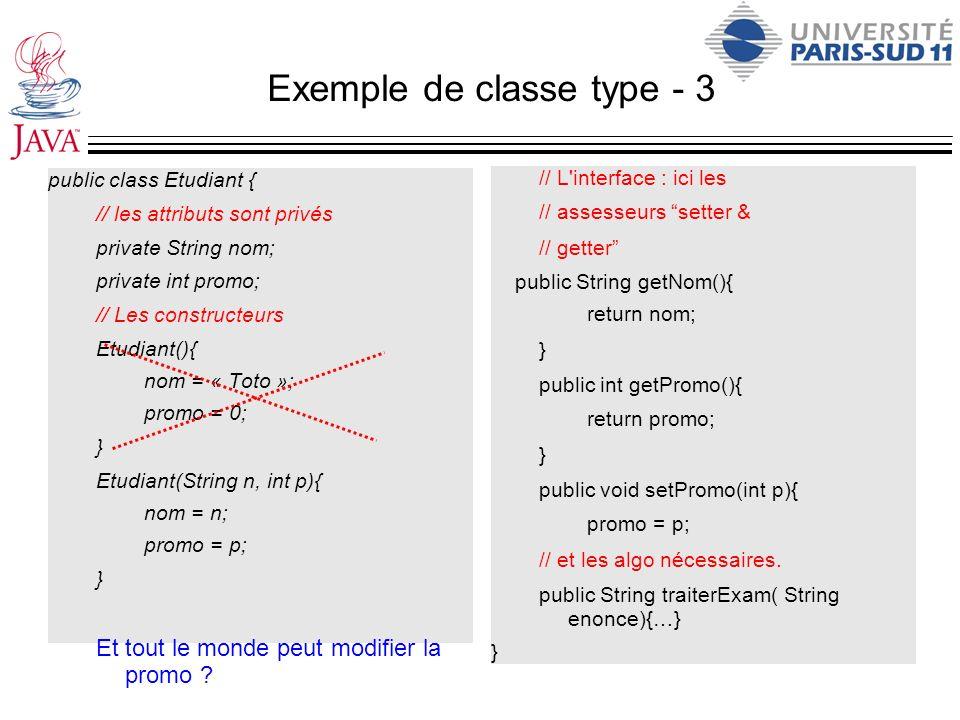 Exemple de classe type - 3